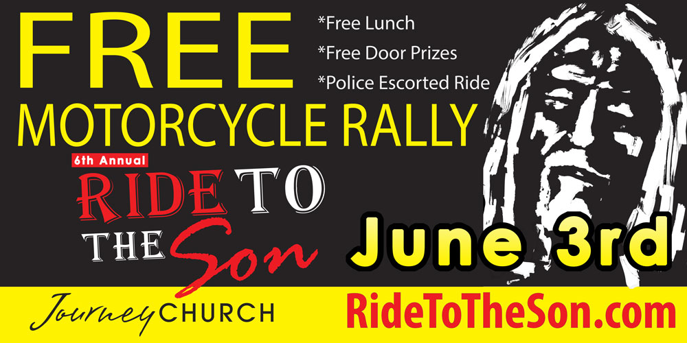 Free Police Escorted Motorcycle Ride in Pineville