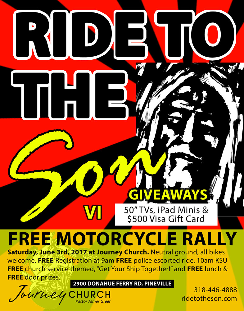 Free Motorcycle Rally with Free Lunch and Free Giveaways